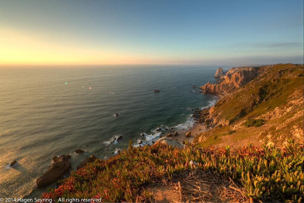 View from Cabo da Rocca