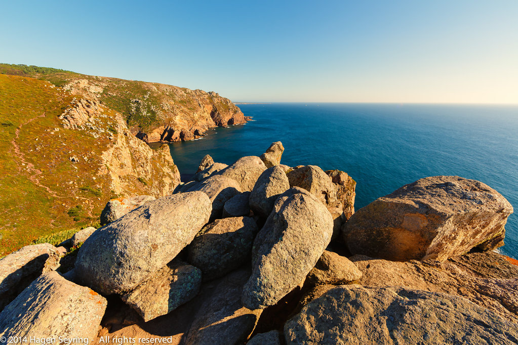 Southern view from the Cabo da Rocca