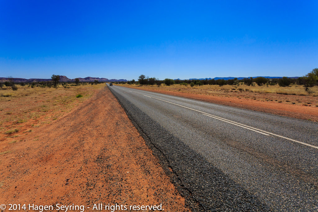 Larapinta Drive to the Simpsons Gap