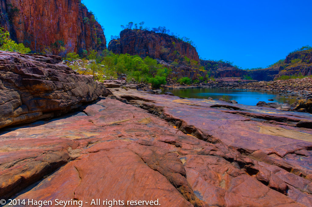 Pool in the Katherine Gorge