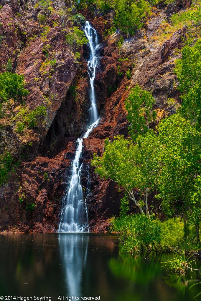 The Wangi  Falls