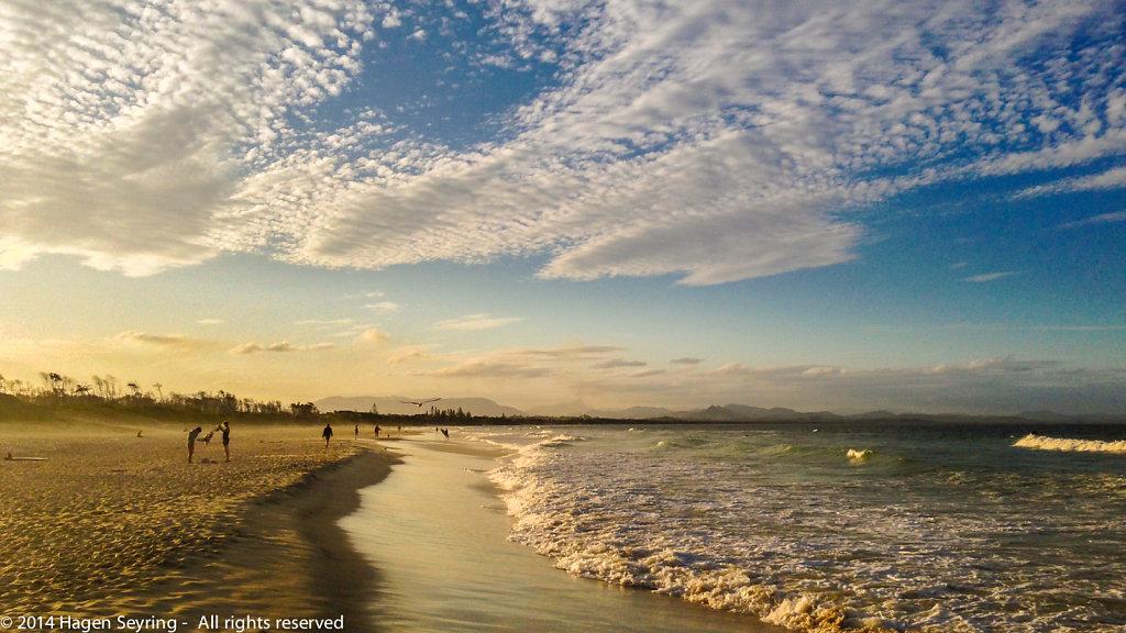 Beach of Byron Bay