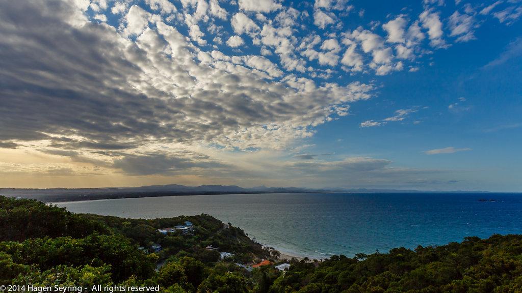 View to  Byron Bay