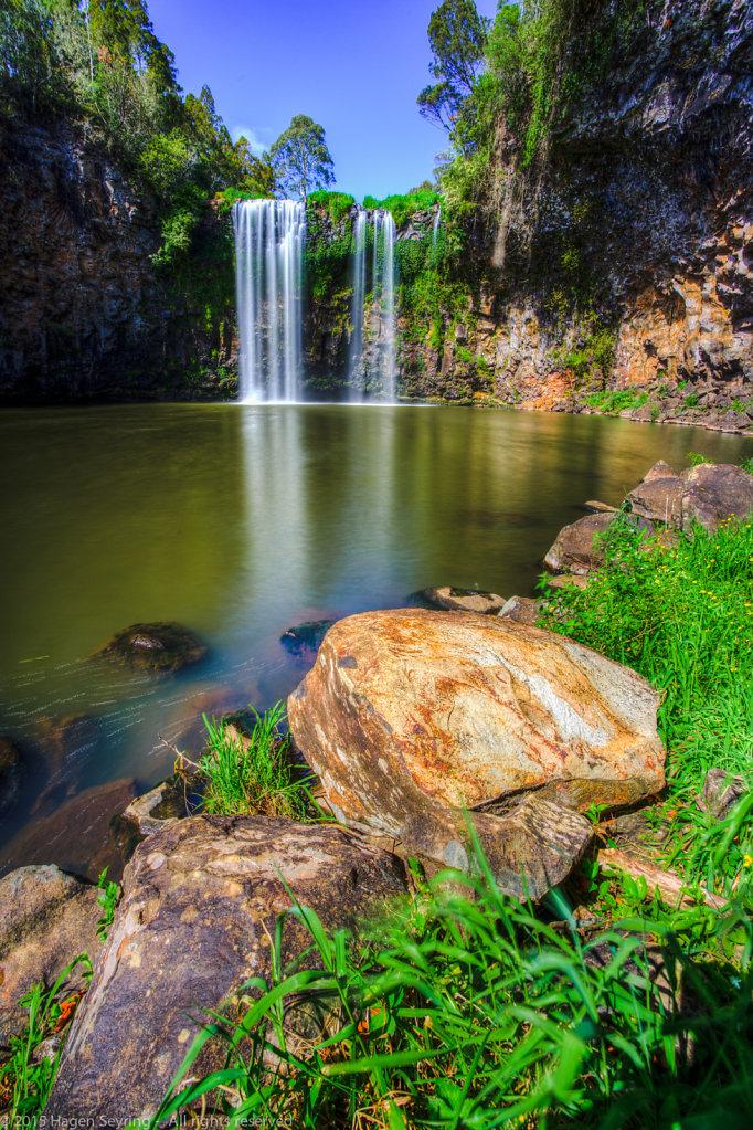 Dangar waterfall, Dorrigo National Park, NSW