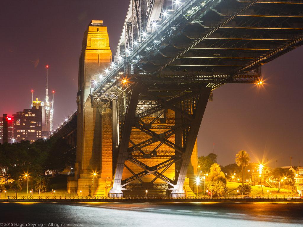 Pylon of the Sydney Harbour Bridge