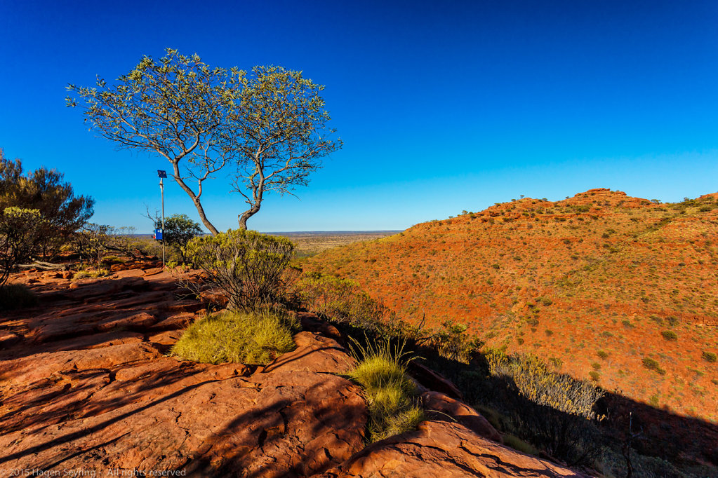 Plateau in the Kings Canyon