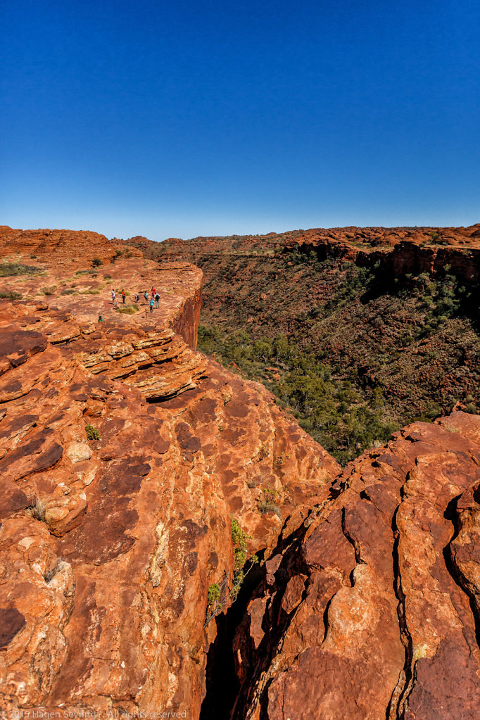 Deep gorge in the Kings Canyon