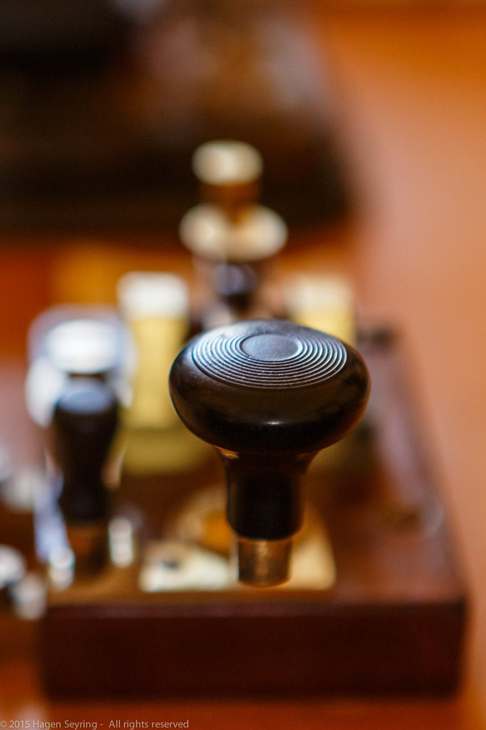 Radiotelegraphy device