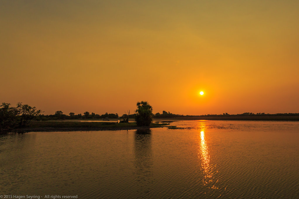 Atmosperic Sunset on the South Alligator River