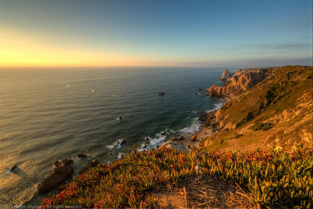 Cliff coast from Cabo da Roca