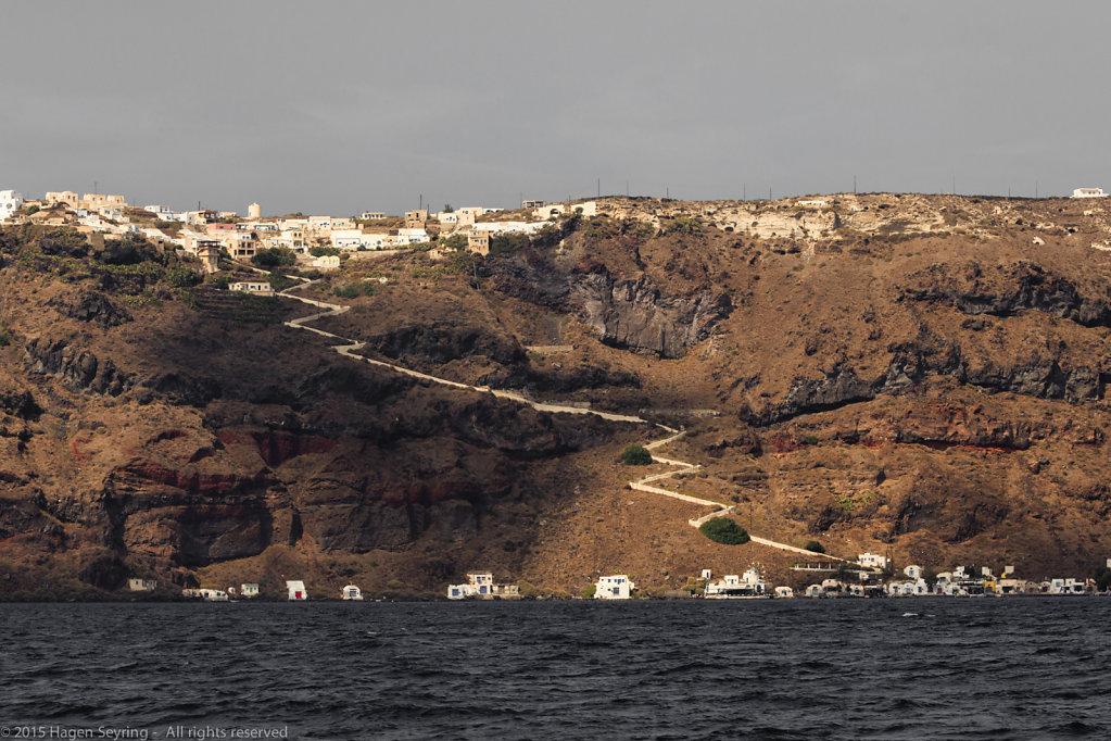 Crater edge